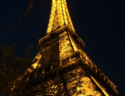 Eiffel Tower at night in Paris, France | Paris, Meet Boston blog