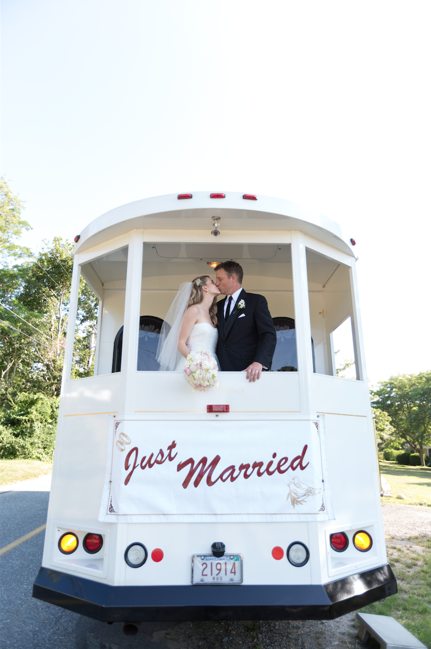 Just married trolley