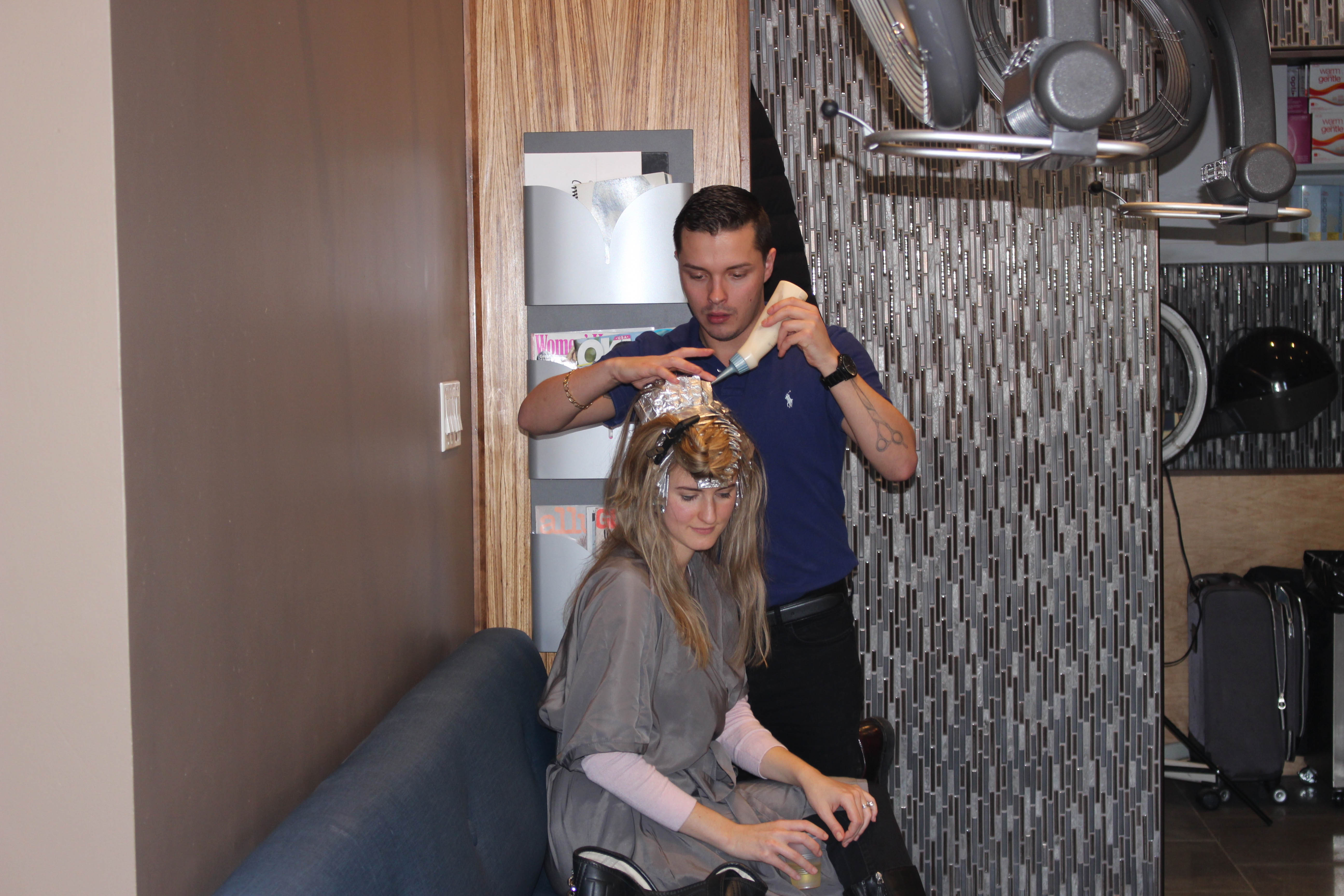 French chic hair styling at Salon Acote in Boston