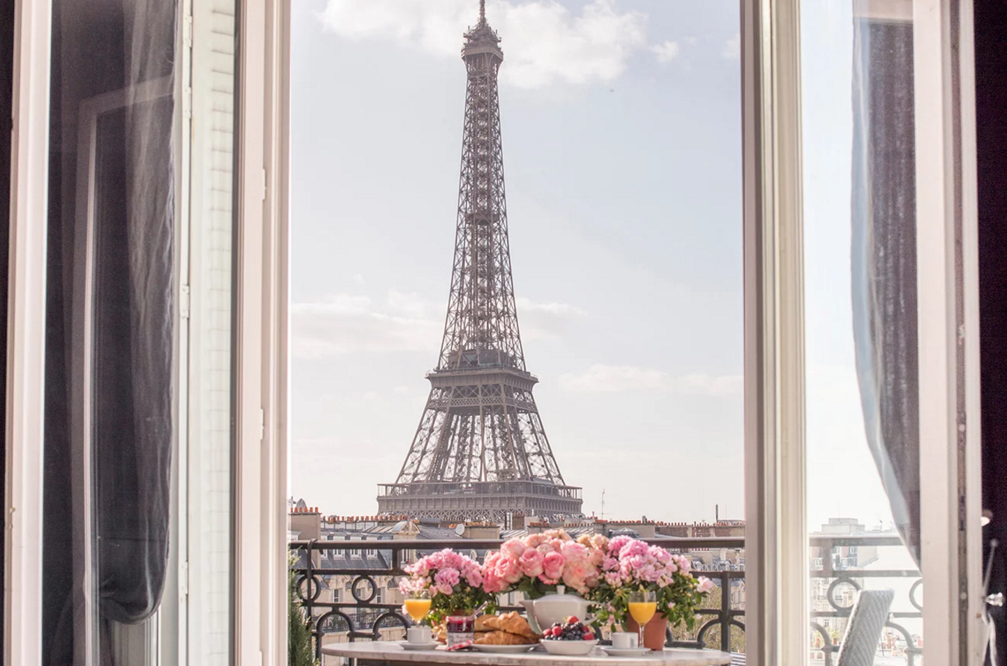 Paris Perfect Eiffel Tower View
