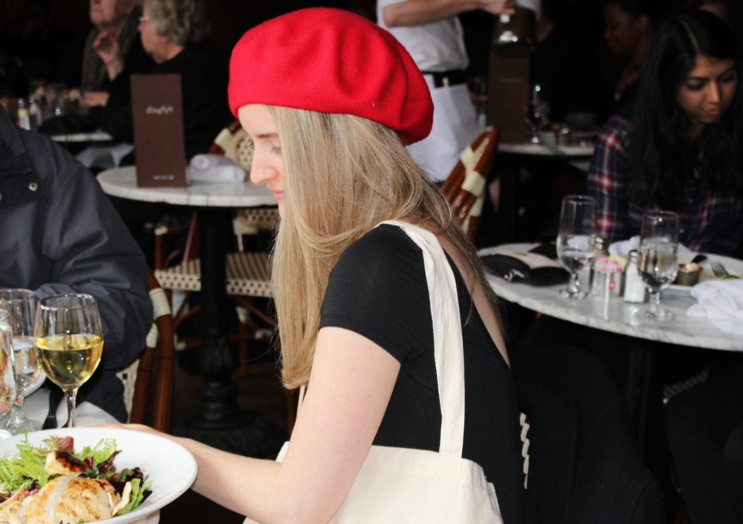 My Little Red Beret + Brunch at Sonsie  49b13ab7e7c